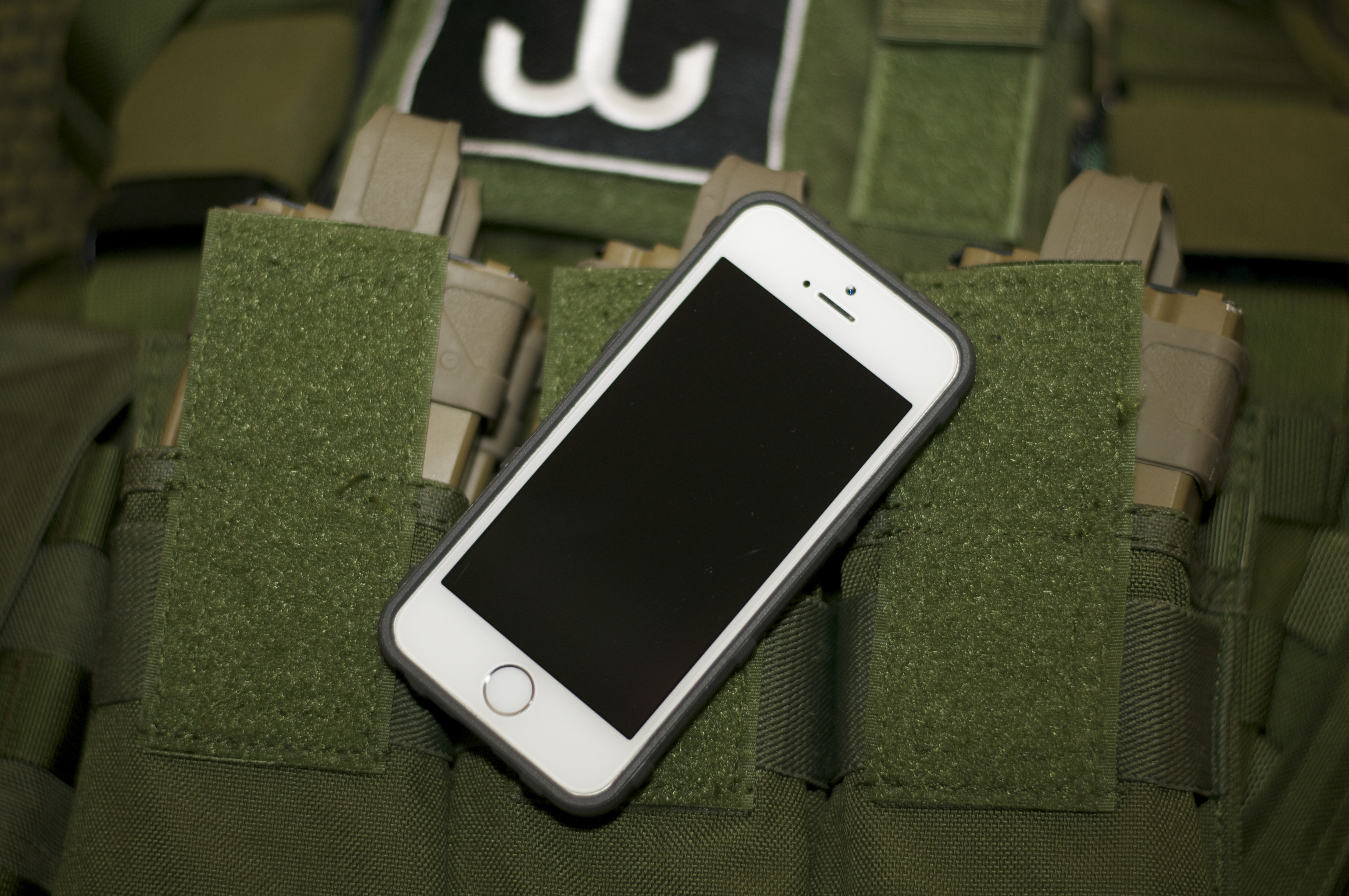 Magpul Bump Case for the new iPhone 5/5s front