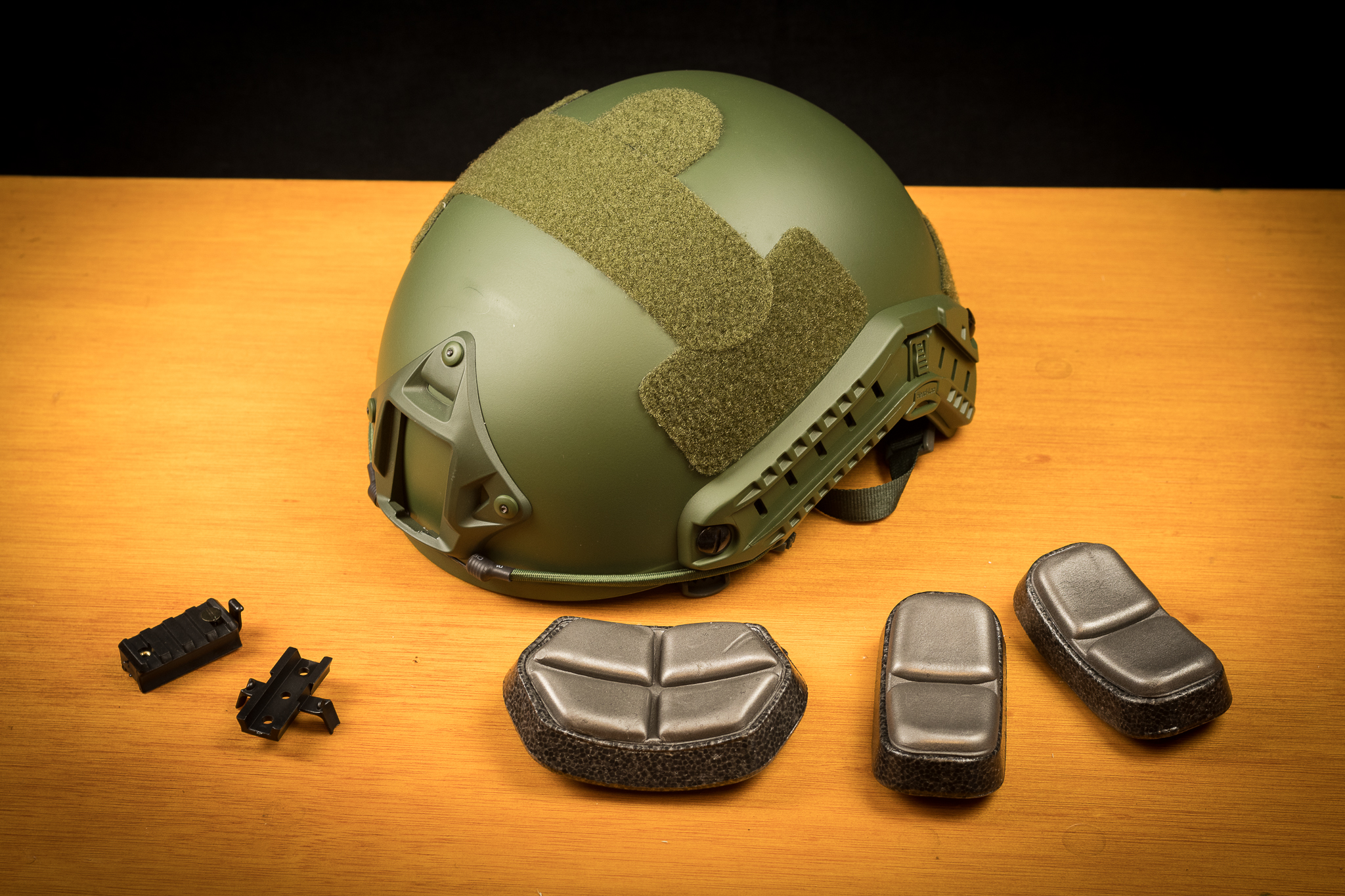 Viper FAST Helmet with Accessories